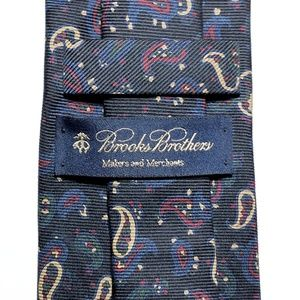 Brooks Brothers Accessories - Brooks Brothers Makers and Merchants Paisley Tie